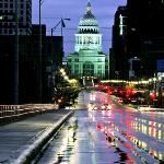 Austin Texas Capitol and Congress Avenue