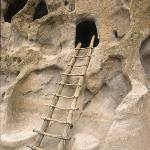 Anasazi Leaning Ladder, Bandelier, New Mexico